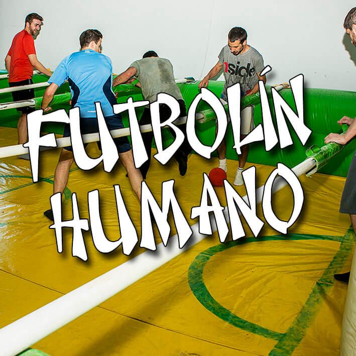 Futbolín Humano