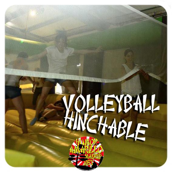 Voleyball hinchable